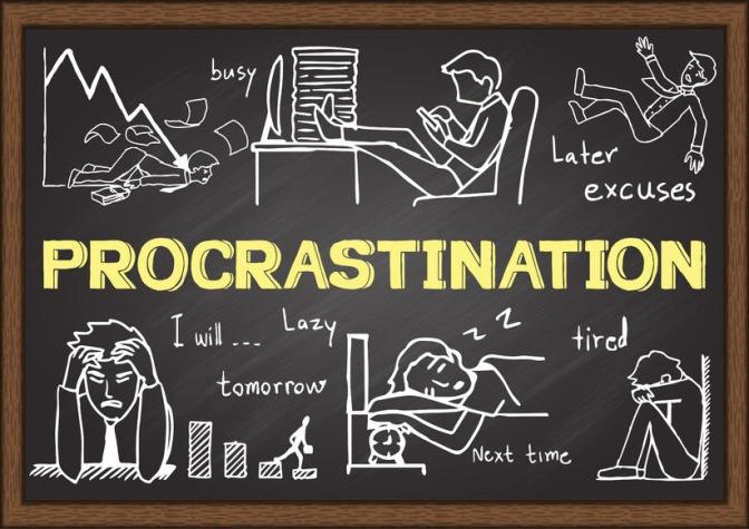 Vous avez dit procrastination ?